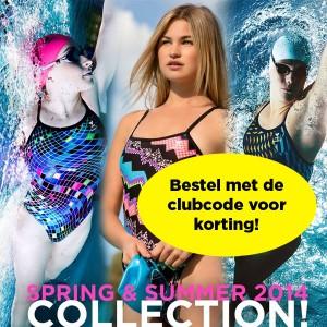 Nieuwe collectie TYR SS clubcode